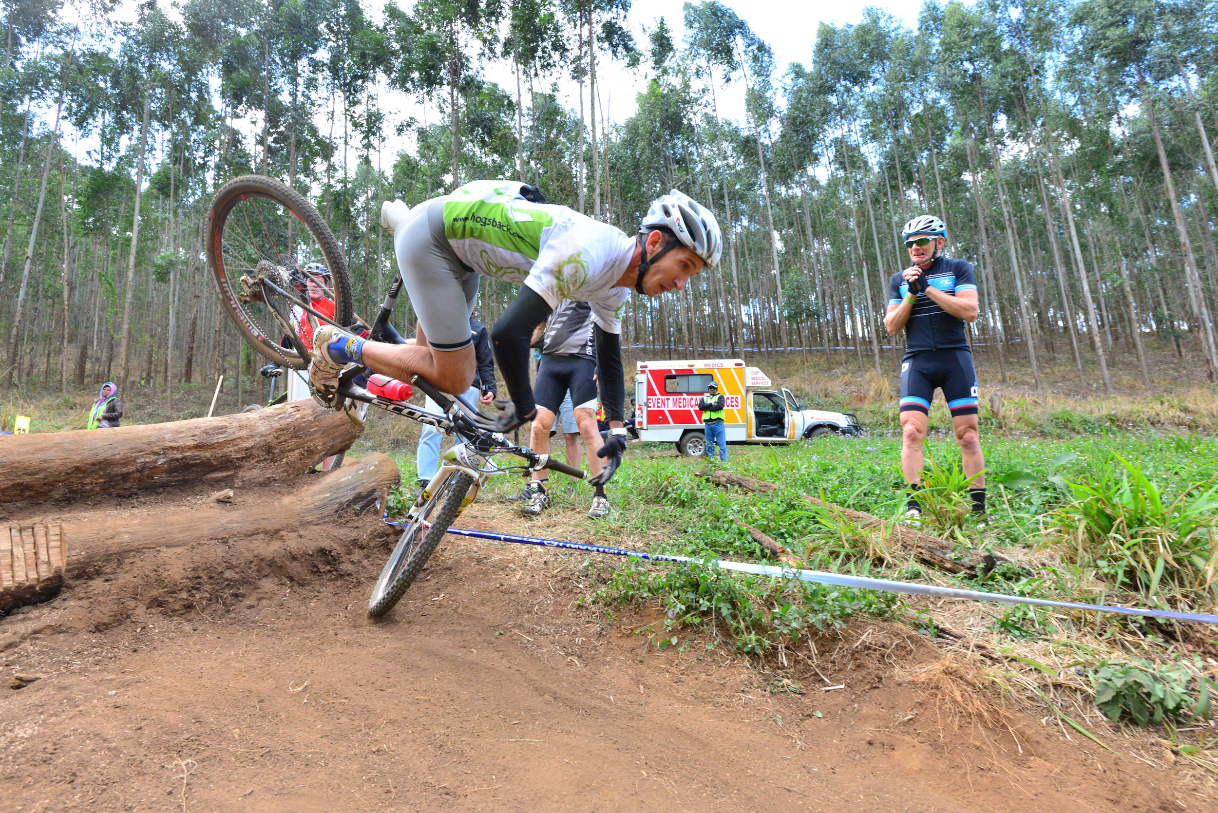 at Cascades MTB Park Downhill Trail in Pietermaritzburg, South Africa - photo by meagerdude